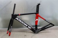 Wholesale Newest T1000 black and red C Road bike UD carbon fibre bike frame fork seatpost headset XS S M L