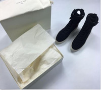 Wholesale 2016 Fear Of God Fog Boots Military High Top Sneakers Nubuck outdoor boots fearofgod FOG shoesFog Jerry Lorenzo