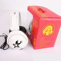 big green animations - One Piece D2Y black big headphones Guangzhou animation surrounding fashion headphones MP3 headphones
