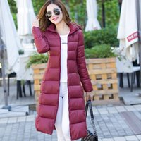 Wholesale 1 New Women s Jacket Winter Warm Smooth soft and slim Long Parka Camperas Mujer Female Women Parkas Double Face Coat