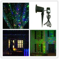 Wholesale new products IP outdoor Christmas star projector laser light shower Moving Twinkle RGB Light Projector Landscape light