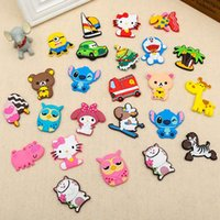 Wholesale New Cute Cartoon Anime Action Figure Famous Characters Fridge Magnet Home Decor Refrigerator Sticker