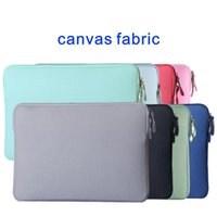 air bag shock - Laptop Sleeve Macbook Air Pro Soft Case Cover Bag for Apple Samsung Notebook canvas fabric shock proof quot quot quot quot