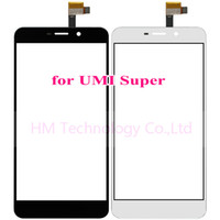 Wholesale Black White TP for UMI Super quot Touch Screen Digitizer Glass Panel Sensor No LCD Smartphone Replace Part Tools