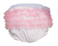 Wholesale Adult Baby Ruffle Panties Bloomers incontinence Diaper Cover FMP03 M L XL