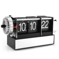 alarm clock features - Metal Frame Dynamic Flip Alarm Clock Features A Classic Style Digital Mechanical Table