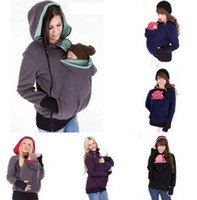baby maternity clothing - mum and baby winter Outerwear warm fleece baby sling for kids and maternity clothing baby carrier mammy coat