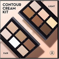 Wholesale new hot sale high quality Brand Makeup ANAS medium light deep colors concealer contour cream kit free ship