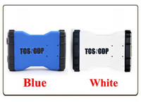 Wholesale TCS cdp Pro plus blue white car trcuk scanner with R2 keygen with Bluetooth same function as MVD with Multi language