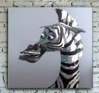 best poster frames - Best Quality Animal Print Art on Canvas Hand Painted Decorated Poster Oil Painting for Home or Office Wall Decoration No Frame