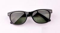 achat en gros de montures de lunettes femmes vintages-Hot Classique Vintage Retro Viajante 901 902 Lunettes de soleil Hawksbill cadre Verre UV protection G15 lentille Homme Femme Lunettes de soleil 52 / 55mm