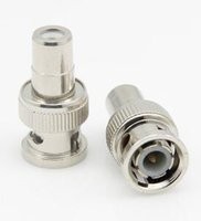 Wholesale high quality BNC socket adapter AV audio female to BNC male straight connector adapters