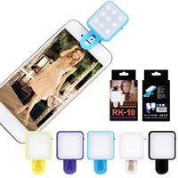 beauty photography lighting - RK10 Portable Mini Selfie Beauty Fill Light LED Flashlight Lamp Enhancing Photography in Darkness for Smartphone iPhone Samsung
