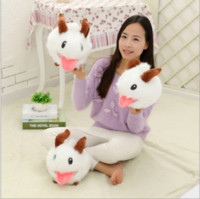 Wholesale Hero alliance ice and snow LOL lu lu spirit doll PORO plush toys factory direct sale