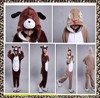 animal halloween costumes for teens - Sell like hot cakes Anime Cartoon Cosplay Costumes Comfy Leisure Animal Onesies Pajamas Jumpsuit for Teens Adults Mens Womens Tail Homewear