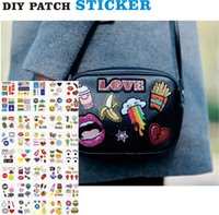 Wholesale Fashion Patch Sticker for Clothes Bag Phone Laptop decoration DIY Sticker Accessories