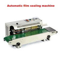 automatic banding machine - Plastic Bag Soild Ink Continuous Band Sealer Automatic film sealing machine Sealing Machine
