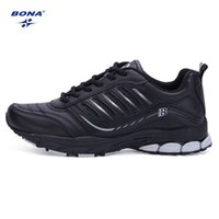action wear - BONA Spring Autumn Men Flat Shoes Lace Up Action Leather Men Footwear Lightweight Comfortable Quality Shoes For Male Wear