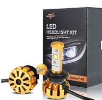Wholesale Auxmart LED Car Headlight Kit Canbus H4 H7 H11 HB3 HB4 CREE Chips W set Auto Led Lamp For Chevrolet Ford Honda BMW