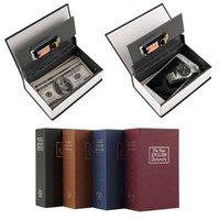Wholesale Stealth Simulation English Dictionary Book Safe Small Mini Lock Box Storage Box