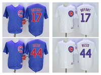 Wholesale Cubs Kris Bryant Baseball Jersey Javier Baez Sosa Russell Anthony Rizzo Arrieta Jerseys White Grey Blue Available