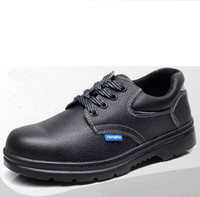 Wholesale Fashion Comfortable Microfiber Leather Working Work Safety Shoes Protective Smash proof Penetration resistant Shoes Unisex Special Purpose S