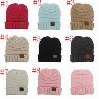 Boy Spring / Autumn Crochet Hats Boys Girls CC Beanies Knitted Hats Cap Beanies Autumn Winter Casual Cap Warm Knitting Hats Crochet Caps For Children Kids PPA668