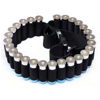 Wholesale 29 Rounds Ammo Holder Shells Belt Shotgun Cartridges Carrier Adjustable Waist Shouler Belt for Shooting Hunting Bandoleer
