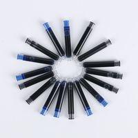 Precio de Cartuchos de tinta de la fuente al por mayor-Venta al por mayor-5 Piezas / lote negro disponible negro cartuchos de tinta pluma recargas Universal Pen recarga de oficina