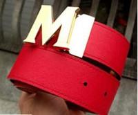 Gafas de sol de moda de las señoras de marca de diseñador de vaquero sombrero de cintura para hombre tamaño de la hebilla de 105-125 cm de lujo deslumbrante colores atributo no embalado en caja