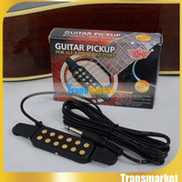 Wholesale Guitar Pickup hotsale cheap Easy to Fix Clip on guitar pickup KQ for Acoustic guiatr Classical guitar