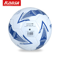 Wholesale KANSA5 machine sewing PVC training ball soccer is not easy to deformation stability good elasticity wear resistance etc