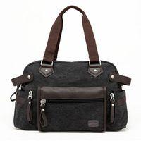 Wholesale Canvas Travel Bag Large Capacity Men s Handbag Women Shoulder Bags Carry On Men Duffle Bag Weekend Travel Bags H016