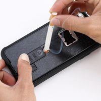 apple bottle opener - For iphone plus Cigarette Lighter Phone Cases Bottle Opener Stent Back Cover For iphone s plus plus Shockproof Protective Shell Skin