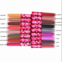 Wholesale Hot Sale Colors Moonstone bloodmoon Wicked Teddy Saddle Suedeberry Lip Gloss Velvety Matte Liquid Lipstick Women Sexy Lip Makeup Cosmetic
