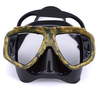 Wholesale professional Snorkeling Scuba Diving Mask Snorkel for spearfishing gear swimming masks goggles equipment oculos de mergulho gafas buceo