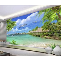 beach house bedroom decor - Fashion D Home Decor Beautiful beach landscape fashion decor home decoration for bedroom living room