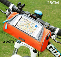 Wholesale With the touch screen bike bag free ride can be loaded mobile phone purse package bicycle bag