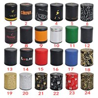 Wholesale Hotsale new PU leather dice cup Bar Casino Guessing Games KTV Party Pub Night Club drinking Beer Toy Cup IVU