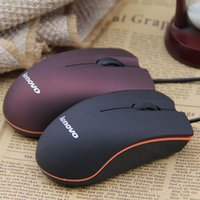 Wholesale Lenovo M20 Mini Wired D Optical USB Gaming Mouse Mice For Computer Laptop Game Mouse with retail box DHL Shiping Free
