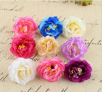 Wholesale NEW cm Artificial Rose Silk Flower Heads Decoration for Wedding Party Banquet Decorative Flowers HJIA1069