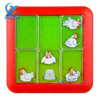 alphabet board games - Creative Hen Looking for Eggs Maze Game Slide Puzzle Novelty Labyrinth Game Jigsaw Board Toy Children Learning Education Toys