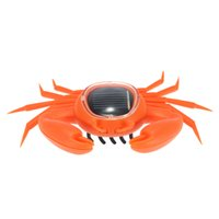 Wholesale Hot Sale Kids Toys Solar Crab Interesting Solar Powered Energy Crab Original Children s Educational Solar Toys