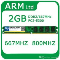 Wholesale DDR2 GB Mhz RAM PC2 Memory for desktop computer memory For AMD and for Intel system Fast shipping