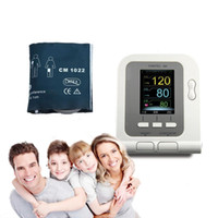 accuracy blood pressure monitors - For Child Digital NIBP Monitor High Accuracy Rate Ambulatory Blood Pressure Monitor with Infant cuff sphygmomanometer Meter