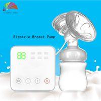 Wholesale USB Electric Breast Pumps Baby BPA Free Postpartum Breast Feeding Nipple Pump Milk Suckers Single Sacaleche Electrico