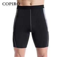 basket ball clothing - Copiro Compression Athletic Shorts Running Tights Men Basket ball Fitness Yoga Clothing Gym Bermudas Masculina Hardloopshorts