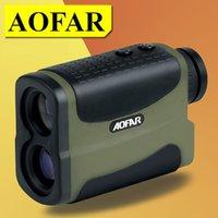 Wholesale AOFAR Laser Rangefinders x25 m range laser range finder hunting monocular golf rangefinders measure laser distance meter speed range