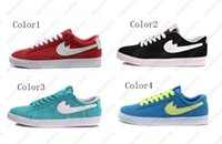 Wholesale SB Low Cut Casual Shoes New Arrival Black Red Sky Blue Dark Blue Unisex Adult Skate Shoes