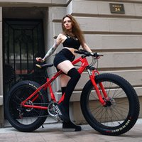 Wholesale 26 Inch Speed ATV Super Wide Tire Mountain Bike Snow Bike Fat Bike Beach Bike MTB Bicycle